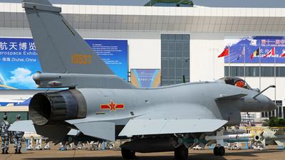 10537 - Chengdu J10B - China - Air Force
