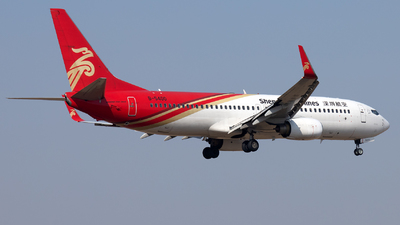 A picture of B5400 - Boeing 73787L - Shenzhen Airlines - © XPHNGB