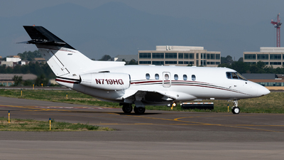 N719HG - Raytheon Hawker 800XP - Private