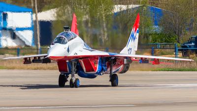 12 - Mikoyan-Gurevich MiG-29UB Fulcrum B - Russia - Air Force