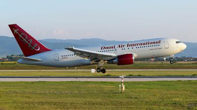 A picture of N234AX - Boeing 767224(ER) - Omni Air International - © Boyko Valchev