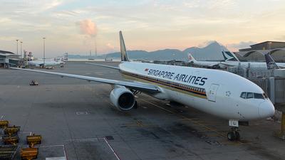 9V-SQJ - Boeing 777-212(ER) - Singapore Airlines