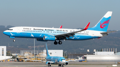 A picture of B1507 - Boeing 7378LY - Kunming Airlines - © zhangmx969