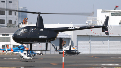 JA41NF - Robinson R44 Raven II - Nihon Flight Safety