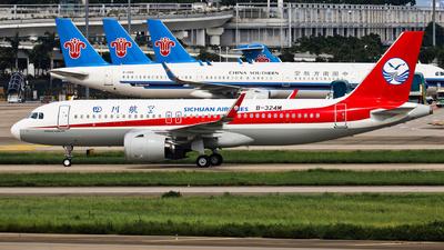 B-324M - Airbus A320-271N - Sichuan Airlines