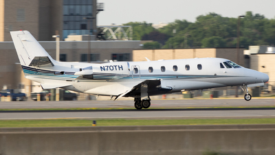 A picture of N70TH - Cessna 560XL Citation Excel - Delta Private Jets - © Stephen J Stein