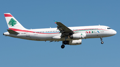 OD-MRM - Airbus A320-232 - Middle East Airlines (MEA)