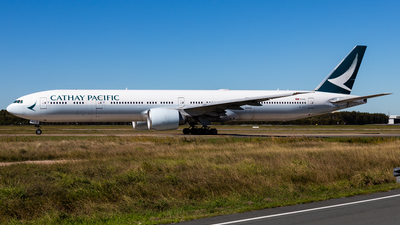 A picture of BKPT - Boeing 777367(ER) - Cathay Pacific - © Brandon Giacomin
