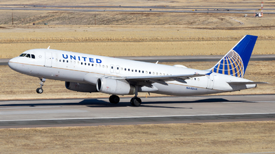 N440UA - Airbus A320-232 - United Airlines