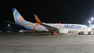 A picture of A6FEP - Boeing 7378KN - FlyDubai - © Frolov Sergey