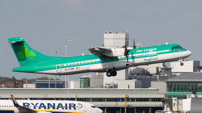 A picture of EIFAW - ATR 72600 - Stobart Air - © Jack Parker man aviator