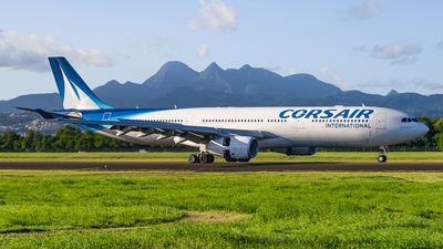 F-HROK - Airbus A330-343 - Corsair International
