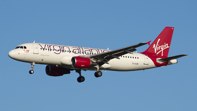 EI-EZW - Airbus A320-214 - Virgin Atlantic Airways