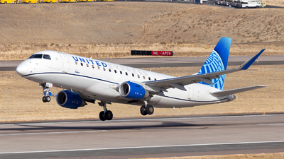 A picture of N606UX - Embraer E175LL - United Airlines - © HA-KLS
