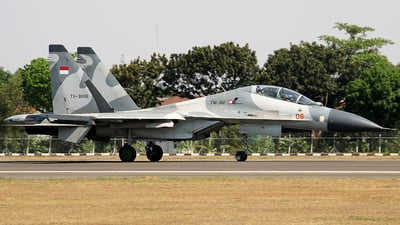 TS-3006 - Sukhoi Su-30MK2 - Indonesia - Air Force