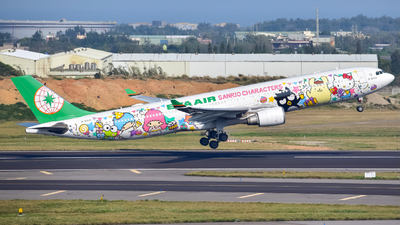 A picture of B16333 - Airbus A330302 - EVA Air - © Oscar Ho
