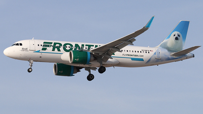 N338FR - Airbus A320-251N - Frontier Airlines