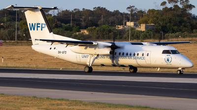 9H-AFD - Bombardier Dash 8-Q311 - United Nations (MedAvia)