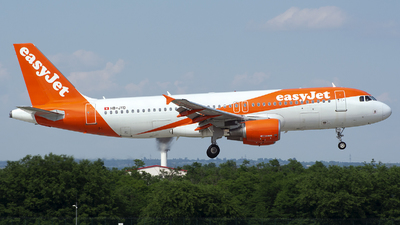 HB-JYD - Airbus A320-214 - easyJet Switzerland