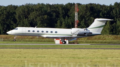 N816MG - Gulfstream G550 - Private