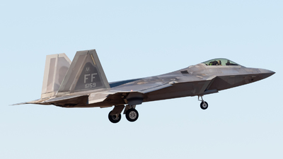 08-4159 - Lockheed Martin F-22A Raptor - United States - US Air Force (USAF)