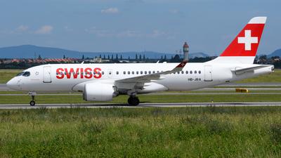 A picture of HBJBA - Airbus A220100 - Swiss - © Chris Jilli