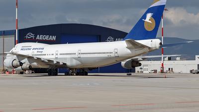 A picture of SXTIC - Boeing 747281B - [23501] - © Sebastian Lewandowski