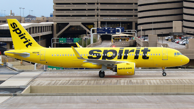 A picture of N921NK - Airbus A320271N - Spirit Airlines - © Zihaoo W & Donny H Photography