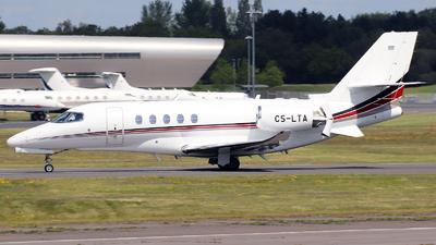 A picture of CSLTA - Cessna 680A Citation Latitude - NetJets - © n94504