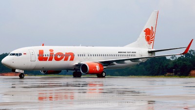 PK-LPO - Boeing 737-8GP - Lion Air