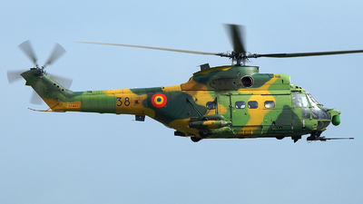 38 - IAR-330L Puma SOCAT - Romania - Air Force
