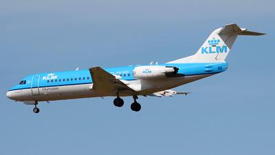 PH-KZI - Fokker 70 - KLM Cityhopper