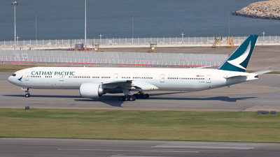 B-KPW - Boeing 777-367ER - Cathay Pacific Airways