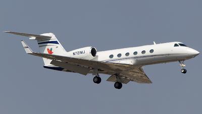 N721MJ - Gulfstream G450 - Private