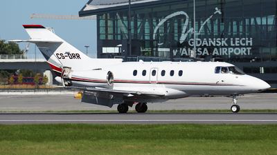 CS-DRR - Raytheon Hawker 800XP - NetJets Europe