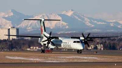 A picture of CGGNY - De Havilland Canada Dash 8400 - Air Canada - © Alex Praglowski