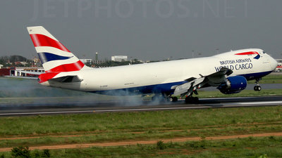 G-GSSF - Boeing 747-87UF - British Airways World Cargo (Global Supply Systems)