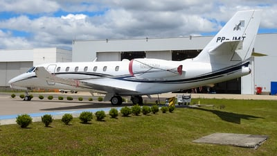 A picture of PPJMT - Cessna 680 Citation Sovereign - [6800534] - © Luiz Felipe Buiar