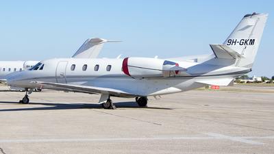 9H-GKM - Cessna 560XL Citation XLS - Avcon Jet Malta