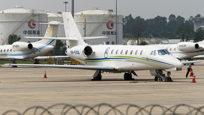 A picture of VHEXQ - Cessna 680 Citation Sovereign - [6800129] - © NicoNicoNi