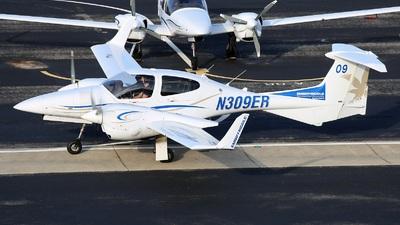 N309ER - Diamond DA-42 NG Twin Star - Embry-Riddle Aeronautical University (ERAU)