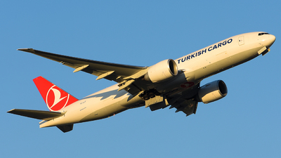 TC-LJT - Boeing 777-FF2 - Turkish Airlines Cargo
