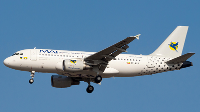 XY-ALK - Airbus A319-115 - Myanmar Airways International (MAI)