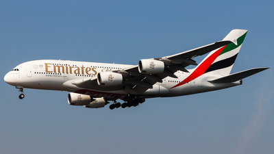A6-EDU - Airbus A380-861 - Emirates