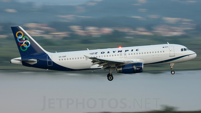 SX-OAP - Airbus A320-232 - Olympic Air