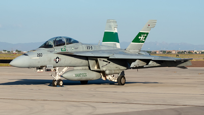 166791 - Boeing F/A-18F Super Hornet - United States - US Navy (USN)