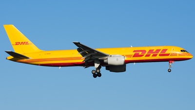 A picture of GBIKM - Boeing 757236(SF) - DHL - © Marco Papa
