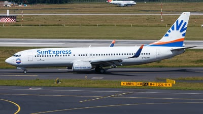 D-ASXW - Boeing 737-8HC - SunExpress Germany