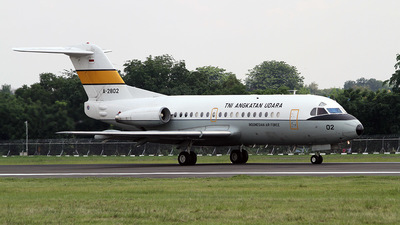 A-2802 - Fokker F28-3000 Fellowship - Indonesia - Air Force