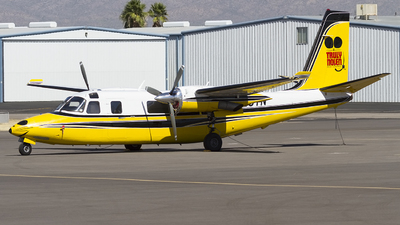 N25TN - Rockwell 695 Jetprop 980 - Private